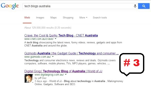top ranking for technology blog