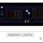 Google does the pac man !!ooh yeaH