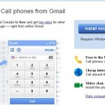 "Google's ""New Gmail Phone Free calls to UK and US in 2010"""