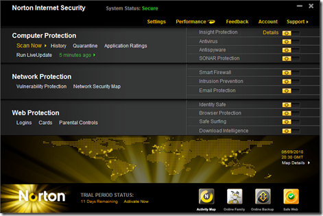 free 60 day trial Norton internet security