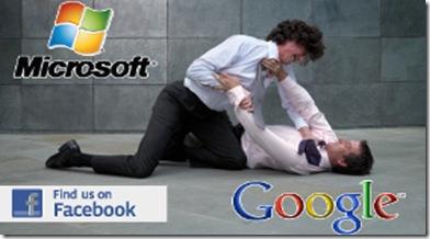 microsoft-vs-google vs face book