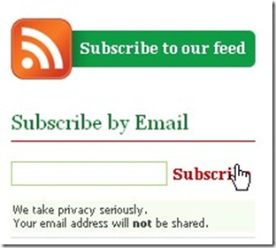 subscribe by email registrations users