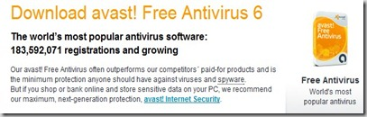 Avast antivirus download free version