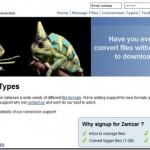 Converting video , 3GP formats–ZAMZAR to the rescue