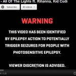 """Grammy Awards """"song of the year"""" Video that can cause harm to you and comes with medical warning"""