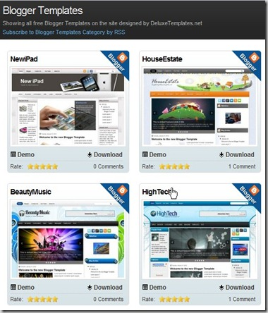 blogger templates and themes free premuim