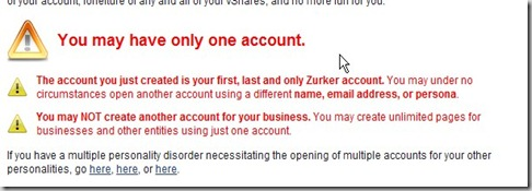 zurker rules and profiles  policy invitation
