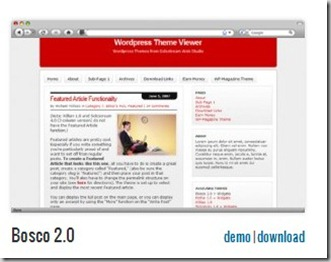 Bosco 2.0 Free cheap premuim solostream wordpress templates