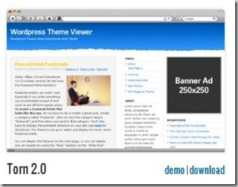 torn 2.0 solostream cheap wordpress themes premuim