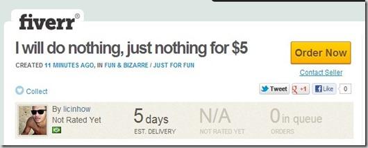 Fiverr.com funny advertising