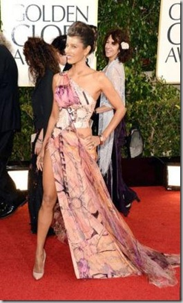 jessica beil in Halle Berry dress