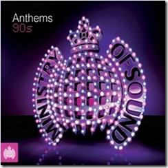 ministry of sound musice album 90s  anthems rave  $5