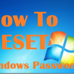 Reset your windows  7 password in under 5 minutes