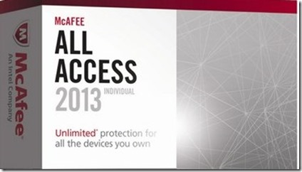 protect yourself online with McAfee® All Access