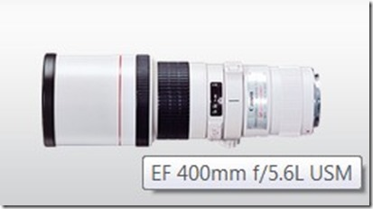 the canon jumbo lens