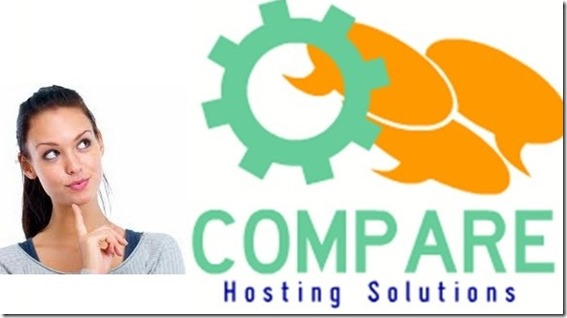 compare hosting solutions for blog and websites