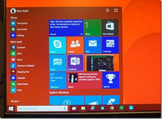 release date password and technical preview download  of windows 10 beta