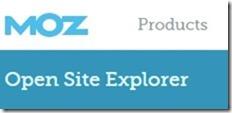 moz ope site explorer