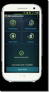 avg smartphone smart devices google play store itunes apple store
