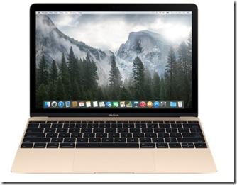 12-inch MacBook 256GB - Gold