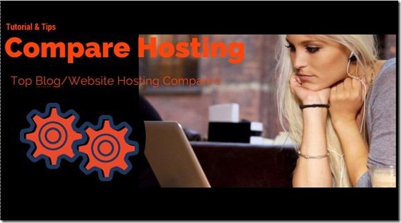La comparación de alojamiento de sitios web