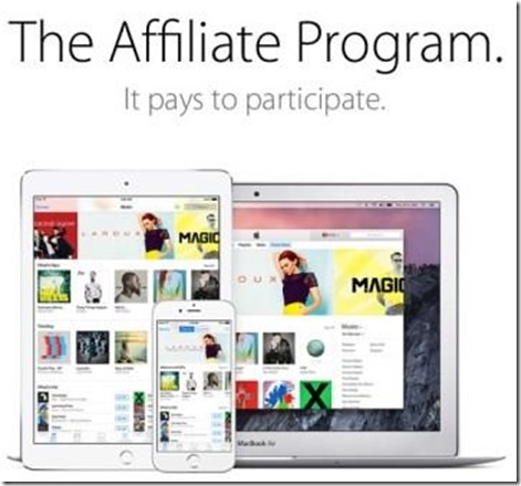 Apple Affiliate program smaller