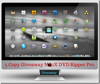 5 Copy Gieaway MacX DVD Ripper Pro