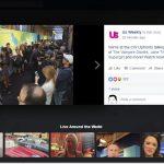 Can I broadcast myself live on facebook