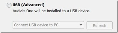 install software to usb device