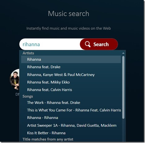music search software for streaming #netflix #spotify #youtube