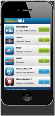 featured-phone of william hill