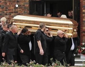 Carl Williams Australian Gangland killer buried in gold-plated coffin
