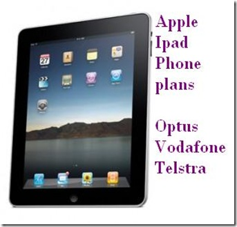 ipad australia ipad plans optus telstra vodafone