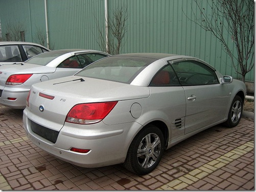 mercedes clk coupe fake china fake BYD_F8