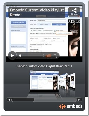 embedr.com Embed you tube playlists video script