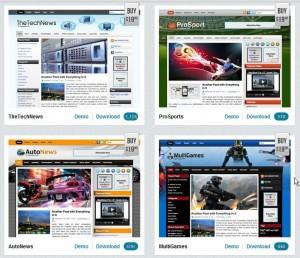 Good Digital Free blogger and word press premium designs