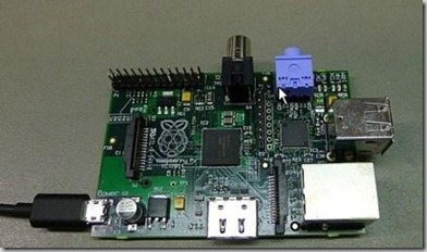Mini Raspberry Pi computer