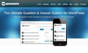 Online answers wordpress site plugin