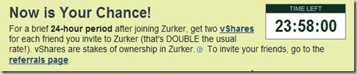 zurker invite  social network