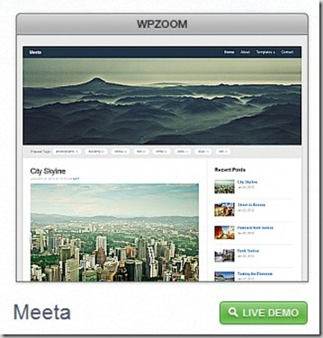 meeta sweet Budget theme for wordpressblogs