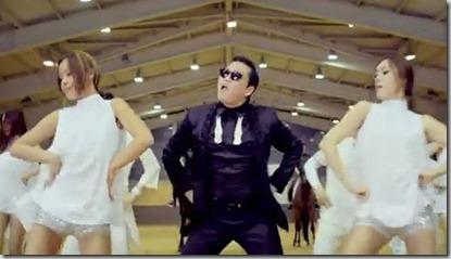 open gangnam style from psy korea