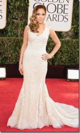 jennifer Lopez  in Francesca Eastwood dress