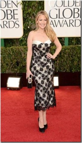 kate hudson in Tina Feys dress