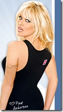 pamela anderson for crazy domain ad