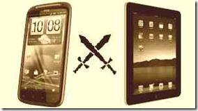 tablets or smartphones