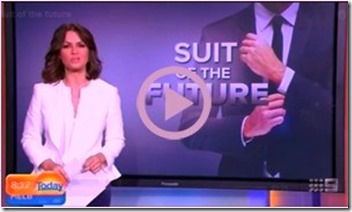 the suit with a chip to make payments the powersuit