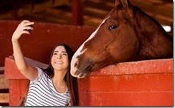 horsie selfie NSFW