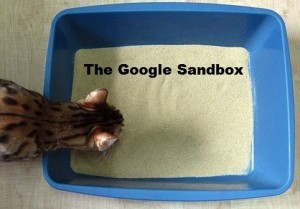 And then there was The google sandbox .. lo and behold