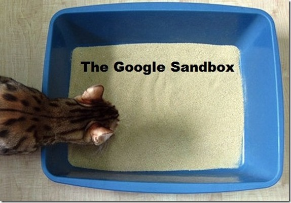 the google new domain website blog sandbox