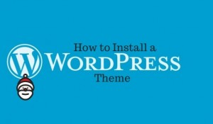 Guide: How to install a WordPress Blog Theme